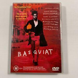 Basquiat (DVD, 2003) Jeffrey Wright David Bowie Region 4