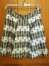 b5a41d6c03 Club Monaco Womens Skirt Size 0 Pleated Silk Blend. Police/Soldiers?? So