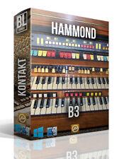 HAMMOND B3 ORGAN LIBRARY LOGIC PRO KONTAKT MPC WAV SAMPLES  MAC PC