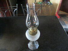 Antique Kerosene Lamp With Shade R E & S Beautiful vintage condition.