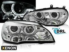 Scheinwerfer BMW X5 E70 07-10 Angel Eyes DRL LED Chrome HID DE LPBMJ7-ED XINO DE