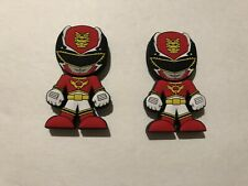 Two Power Rangers Megaforce Red Ranger USB Drives