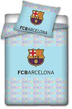 Fc Barcelona Edredón funda almohada Fútbol Bebés juego de cama FCB Barça