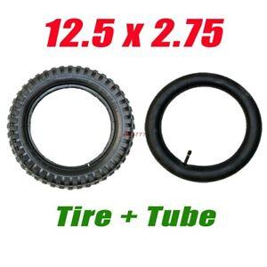 12 1/2 12.5 x 2.75 Tire Inner Tube Set for Razor Electric Dirt Bike MX350 MX400