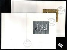 /// GUYANA - FDC - GOLD + SILVER - DINOSAURS