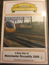 A busy day at Manchester Piccadilly 2008. Railway dvd
