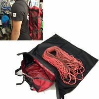 Rock Climbing Rope Kit Bag Folding Shoulder Strap for Outdoor Camping Hiking SD