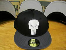 Punisher War Zone Two Tone Hero Marvel Comics New Era Hat Size 7 1/4 NWT 0296