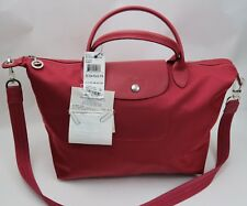 bb5660e722 New ListingNWT Longchamp Le Pliage Neo Medium Crossbody Tote Bag Ruby Red  $245 Receipt!