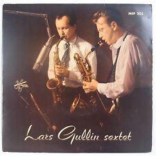 "LARS GULLIN SEXTET: Rare METRONOME Sweden Jazz NEAR MINT 7"" EP 45 Super!"