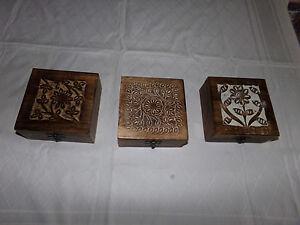 Orientalische  Schatztruhe aus Tropenholz Nr.28 NEU
