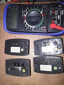 """1 Tri Tronics Collar Battery G2, G2EXP, G3EXP  w""""NEW"""" Battery cells installed."""