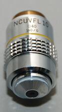 Olympus NCUVFL 10x 0.40NA 160/0 fluorescence objective