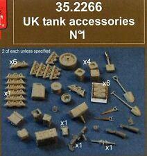 RESICAST 266 UK TANK ACCESSORIES N1. (NL)