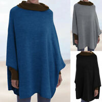 Women Oversize Batwing Sleeve Casual Loose Pullover Top Baggy Shirt Tunic Blouse