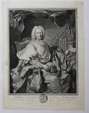 Pierre Imbert DREVET Hyacinthe RIGAUD Guillaume Cardinal Dubois Reichsfürst