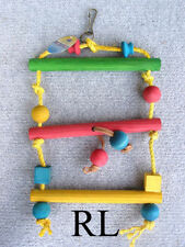 Wooden Ladder Bird Toys