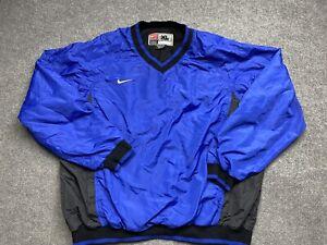 Vintage Nike Team Jacket Mens Medium Extra Large Pullover 90s Windbreaker Adult
