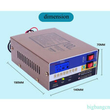 12V/24V Voiture électrique dry&wet Chargeur de batterie intelligent Pulse Réparation 12-100ah