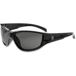 Ergodyne Njord Smoke Lens Safety Glasses - Nylon, Polycarbonate, Polycarbonate
