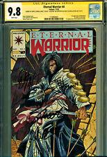 ETERNAL WARRIOR #4 CGC 9.8 SS 4X SIGNATURES-1ST APP BLOODSHOT-MOVIE HERE!