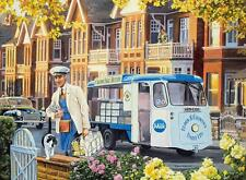 Old Print.  UK.  British Milkman