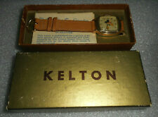 Mickey Mouse 1946 Kelton Watch * Only Made For One Year * In Box & Mint !