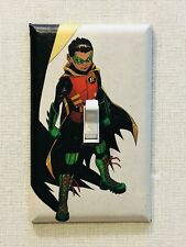 Robin Custom Light Switch Plate - Damian Wayne, Son of Batman