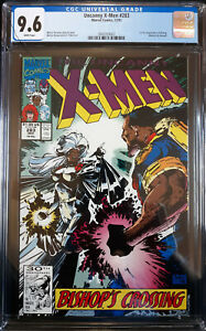 X-Men #283 (1991) CGC 9.6 NM+  White Pages!! 1st full appearance of Bishop!!