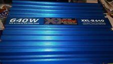 Amplificatore hi-fi car 640watt 4 canali con crossover elettronico
