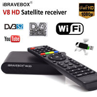 iBRAVEBOX V8 HD Satellite Web TV Receiver Digital 1080P HD DVB-S2 USB LNB HDMI