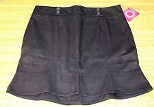 NWT Juniors Size 9 Black Skirt Midi Black Short Skirt NICE - by Xhilaration