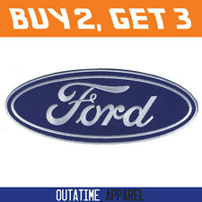 """Offer Buy 2,Get 3 > Ford Embroidered Logo Crest Badge Iron/Sew On Patch 8"""""""