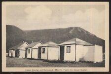 Postcard MONT ST PIERRE GASPE Quebec/CANADA  Cloutier Tourist Cabins 1930's?