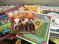 Story Time Bundle/Lot of 50+ Beginners Reading Books for toddlers Fun Great Gift