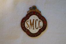 Cricket - Vintage 1935 - South Melbourne Cricket Club Member's Badge - Pre WW II