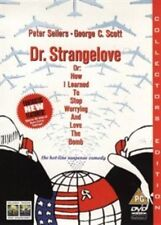 Dr Strangelove - How I Learned to Stop Worrying and Love The Bomb UK DVD