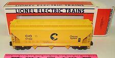 Lionel 6-17102 C&O Chessie System ACF three bay hopper