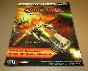 Defender Strategy Guide for Xbox, GameCube & Playstation 2