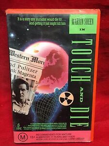 Touch And Die VHS Video Tape ITC 21st Century Pictures Martin Sheen
