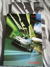 Toyota Celica GAMA FOLLETO Mar 2000 texto alemán