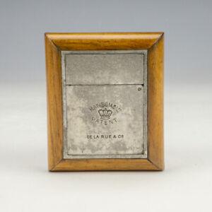 Antique Ransome's Patent - De La Rue & Co. - Folding Miniature Travel Inkwell