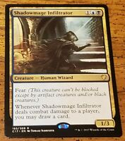Shadowmage Infiltrator FOIL Masters 25 NM Blue Black Uncommon CARD ABUGames