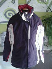 HUMAN NATURE ♥ Damen Winter Ski Jacke ♥♥ Lila Weiß Kapuze gefüttert Gr. S