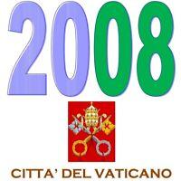 VATICANO 2008 Emissioni congiunte MNH **
