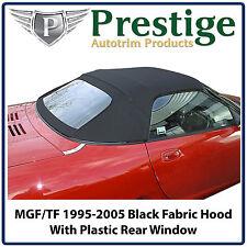 MGF MGTF Car Hood Hoods Soft Top Tops Roof Roofs Black Mohair 1995-2005