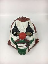 Joker Looking Rubber Halloween Mask for Adults