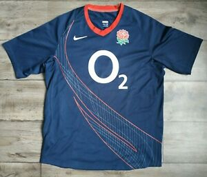 Vintage ENGLAND rugby NIKE shirt jersey size XL 2002