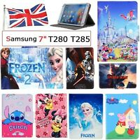 "for Samsung Galaxy Tab A 7.0"" 2016 SM-T280 T285 Flip Case Stand Up Kids Cover UK"