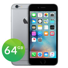 APPLE IPHONE 6 64GB 4G LTE SPACE GRAY NERO GRIGIO SIDERALE GARANZIA